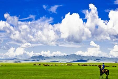 【悦动草原】E6线 内蒙古大草原·银肯响沙湾·成吉思汗陵·塞外青城双飞五日游