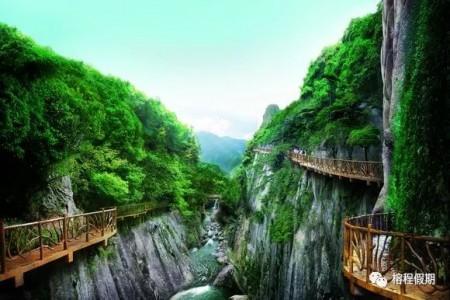 中国云顶、游海西冰川大峡谷、天池草场一日游
